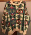 Maglione fatto a mano in lana