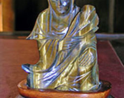 Figura in malachite