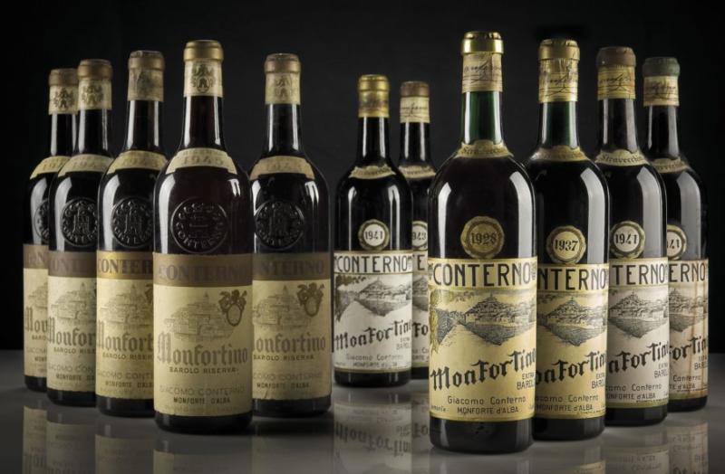 Barolo Monfortino Conterno vecchie annate vino collezionismo investimento