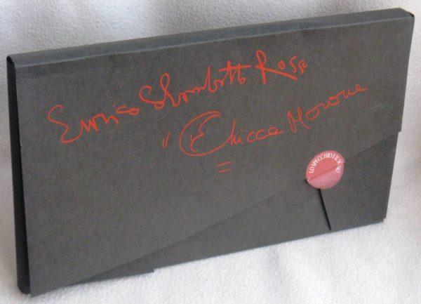 ENRICO COLOMBOTTO ROSSO & CHICCA MORONE - LO SPECCHIO E IL SOGNO - 1°ed.2004 libro d'arte prima edizione