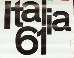 Manifesto pubblicitario ITALIA 61