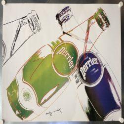 Perrier – Manifesto originale 1983
