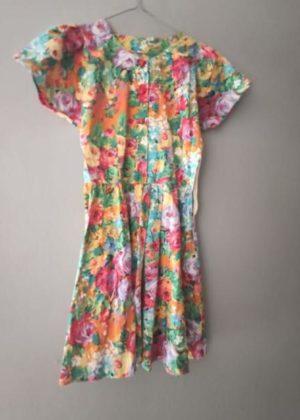 ABITINO ESTIVO ANNI '70 vintage floreale donna
