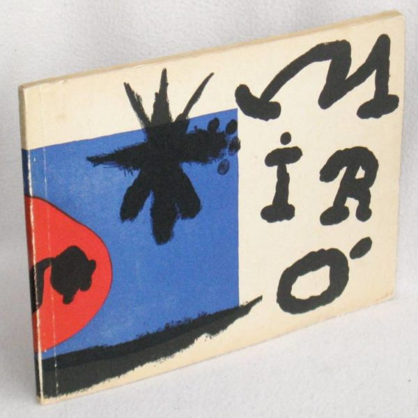 JOAN MIRO' - DAS GRAPISCHE WERK / THE GRAPHIC WORK - 1°ed.1957 libro grafica arte vintage usato