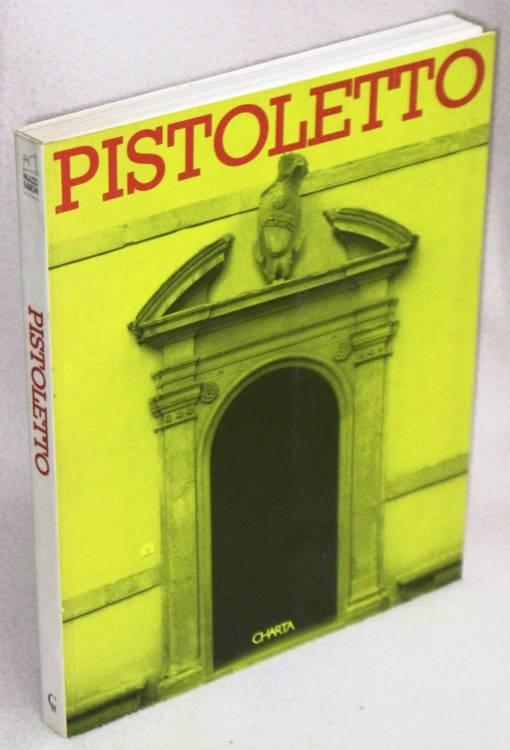 MICHELANGELO PISTOLETTO - LE PORTE DI PALAZZO FABRONI - 1°ed.1995 libro d'arte usato