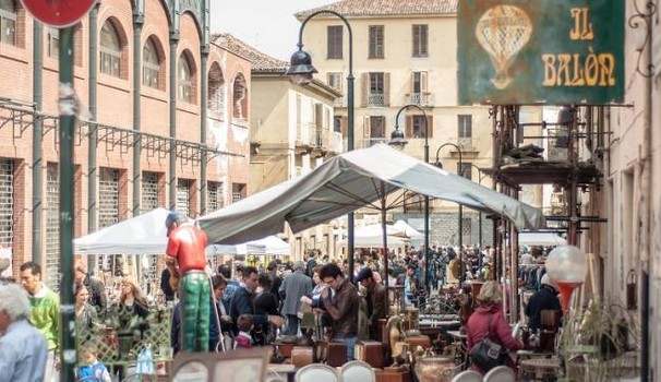 Antiquariato e Vintage al Balon di Torino
