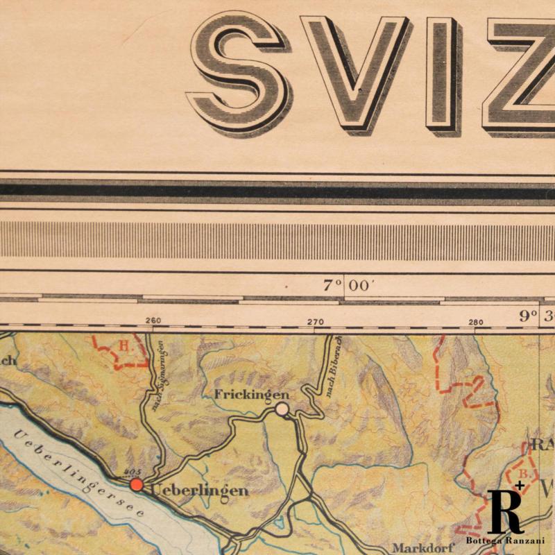 Cartina Geografica Politica Svizzera.Mappa Della Svizzera 1solo Com Pezzi Unici Per Definizione