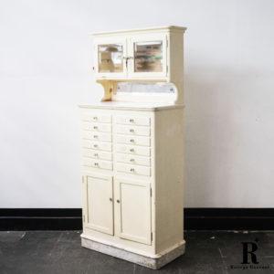 Mobiletto da dentista, anni '50 epoca modernariato Vintage 1Solo.com intero
